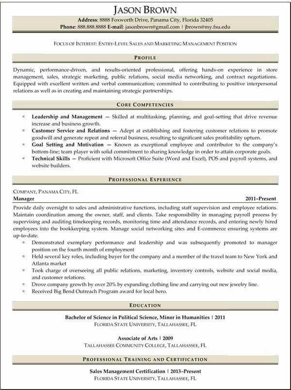 50 unique entry level sales resume in 2020  job resume