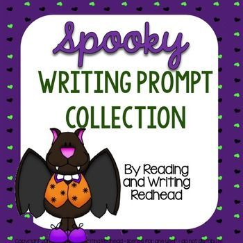 Spooky Writing Prompts (not Halloween specific) These are not Halloween specific - ie there are no mentions of Halloween, costumes, trick-or-treating, etc. The prompts meet the Common Core standards for second grade writing but will also work for grades 1 and 3. I detailed them as listed in the MA frameworks but they apply to the Common Core. Included are 7 different prompts which include expository writing, persuasive writing, and friendly l