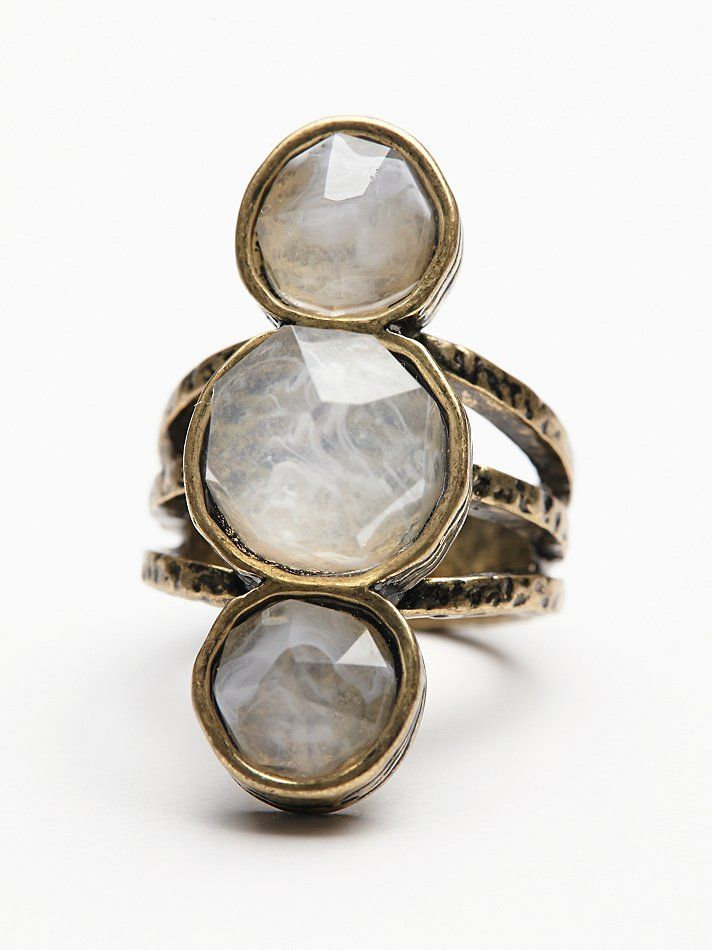 Free People Senna Crystal Ring, $28.00