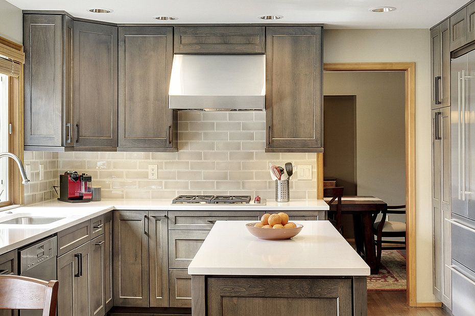 Best Thoughtful Handsome Kitchen Remodel Newly Reconfigured 400 x 300
