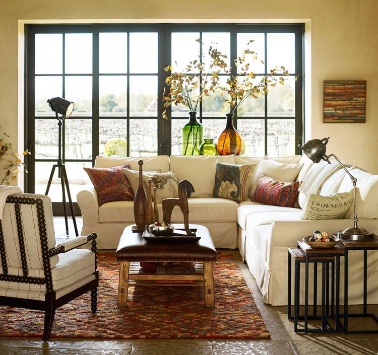 Global Chic Living Room Photo Gallery | Design Studio | Pottery Barn