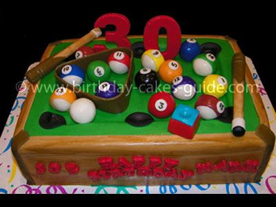 Pool Table Cake How To Make Balls And Triangle W Marshmallow