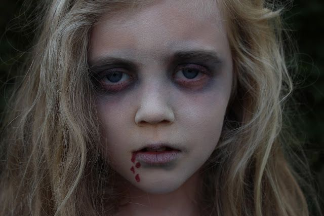 Easy Halloween makeup, part 1   Ghostly Terrors!