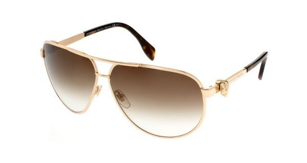 Aviator shades are a classic style for summer. Check out this pair from Alexander McQueen!