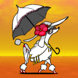 Sunny Celeboodle (Event Enemy) Summer events, Never