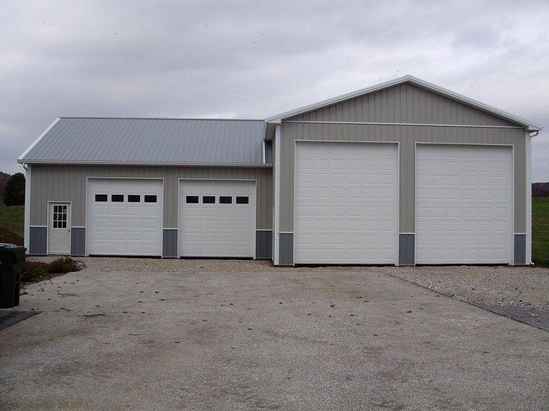 Dimensions 30 W X 50 L X 16 H Id 102 With A 30 W X 32 L X 12 H Attachment 30 Standard Truss Garage House Plans Building A Garage