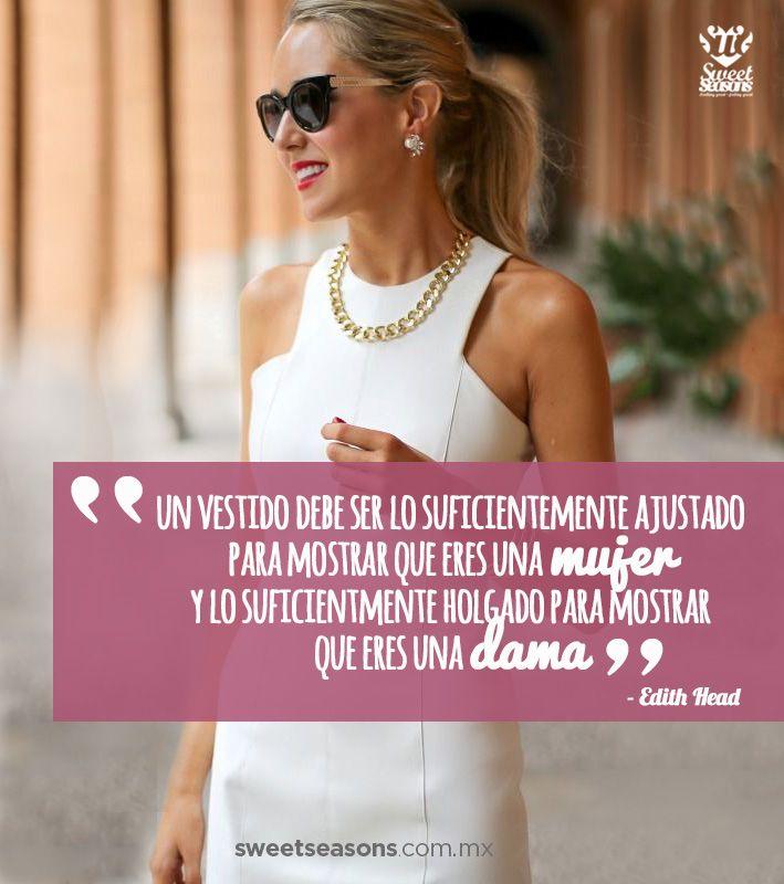 Ni más, ni menos! #Frase #Dama #Vestido #Quote #Girl #Dress | Citas ...