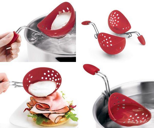 Escalfador de huevos de silicona productos que me - Utensilios cocina originales ...
