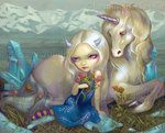 Fiona and the Unicorn by ~jasminetoad on deviantART
