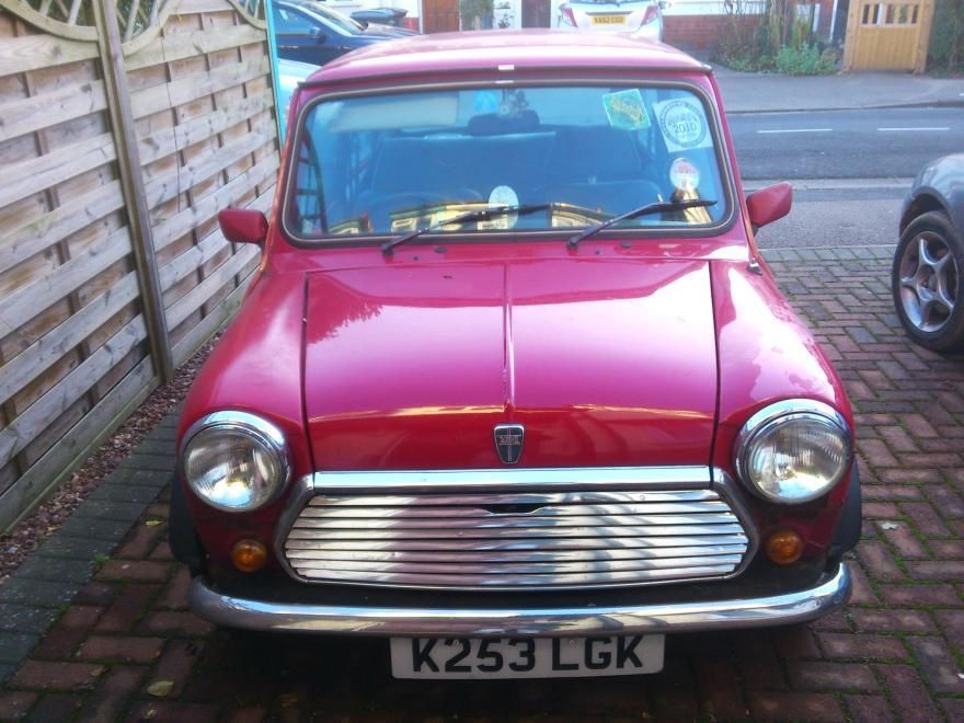 Rover Mini Mayfair 1992 Red For Sale, (Car Advert 290123), £2,000 ...
