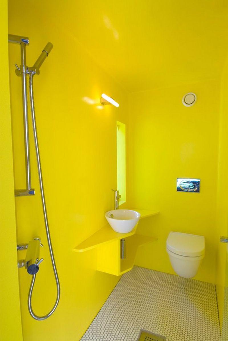 Bathroom-design : Fresh Yellow Bathroom Decorating Ideas ~ HeimDecor ...