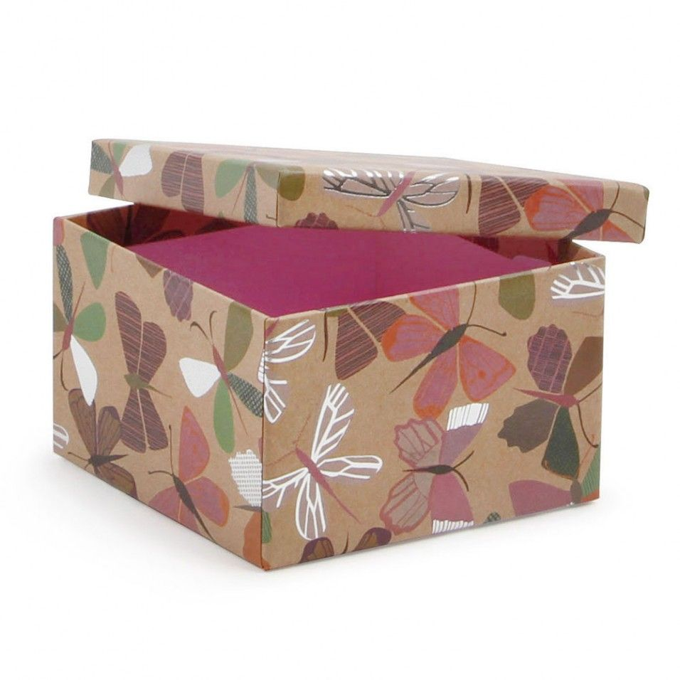 Small butterfly gift box - Paperchase