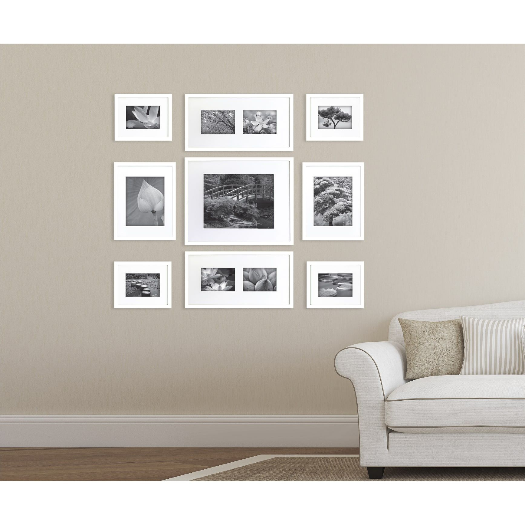 Gallery Perfect 9 Piece White Frame Kit - 16x20 (Wood) in 2018 ...