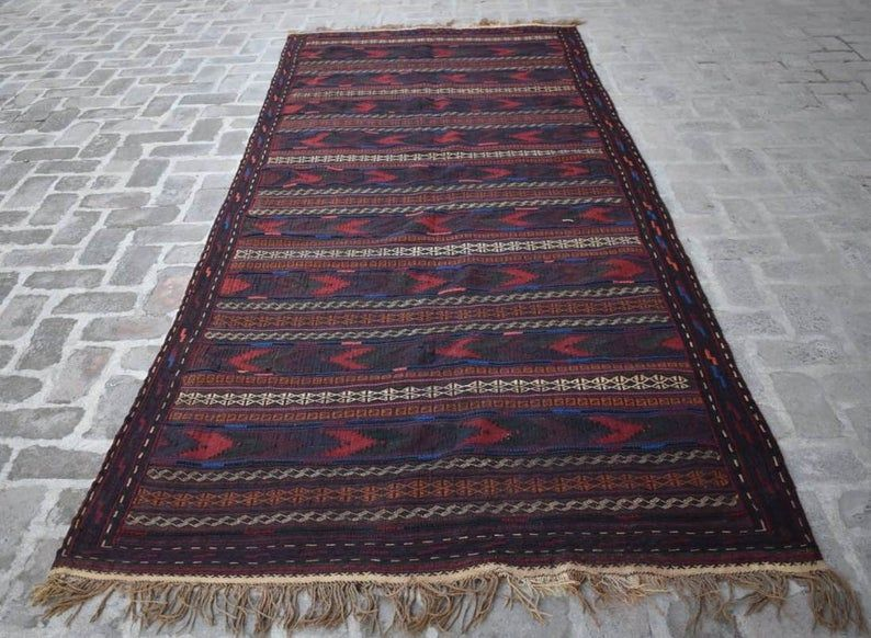 4'10 x 11'10 Feet Stunning vintage afghan tribal best | Etsy