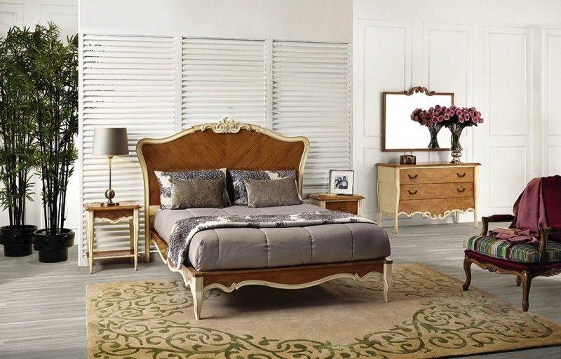 Dormitorio de matrimonio estilo clásico vintage | muebles vintage ...