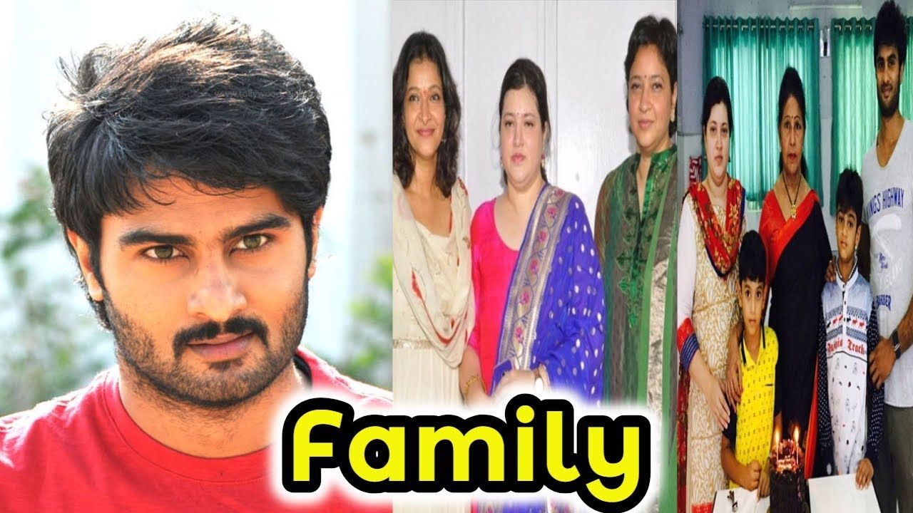 Actor Sudheer Babu Family Photos With Wife Sons And Others B