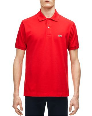 32c5cdbc Lacoste Classic Cotton Pique Regular Fit Polo Shirt - Sirop Pink in ...