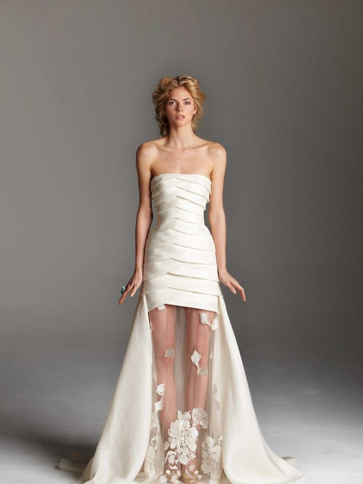 white couture dresses - Dress Yp