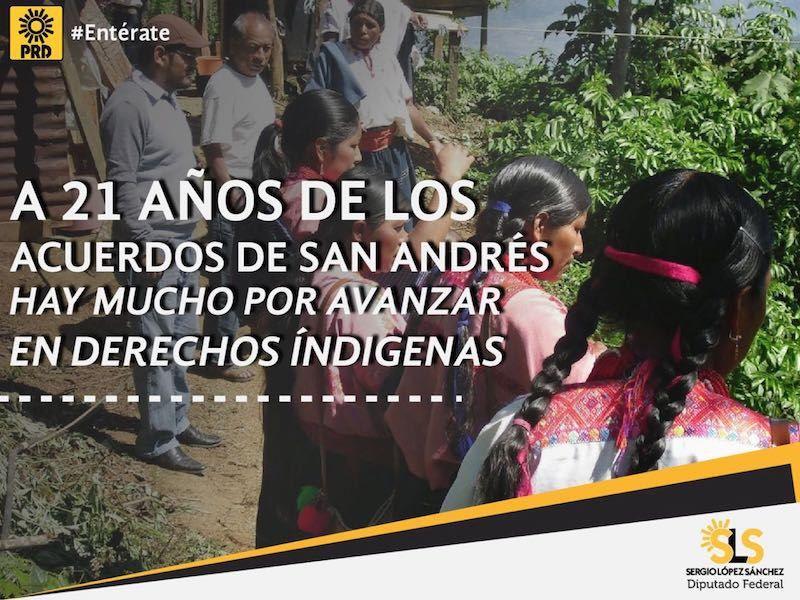 Sobre la conmemoración de los acuerdos de San Andrés