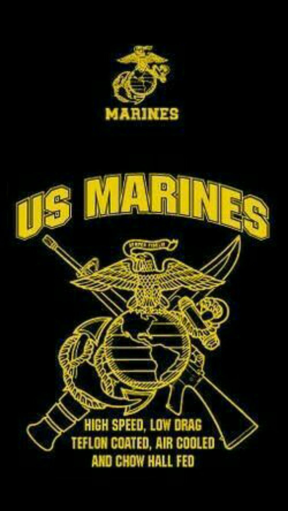 marines usa black wallpaper android iphone