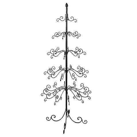 Display Your Holiday Ornaments In Style With The 5 Tier Wire