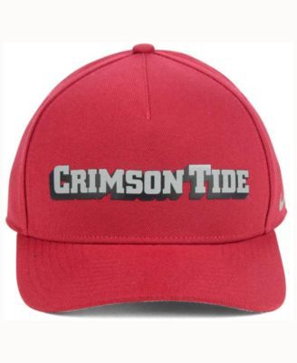 Nike Alabama Crimson Tide Local Dna Verbiage Swoosh Flex Cap - Red OSFM