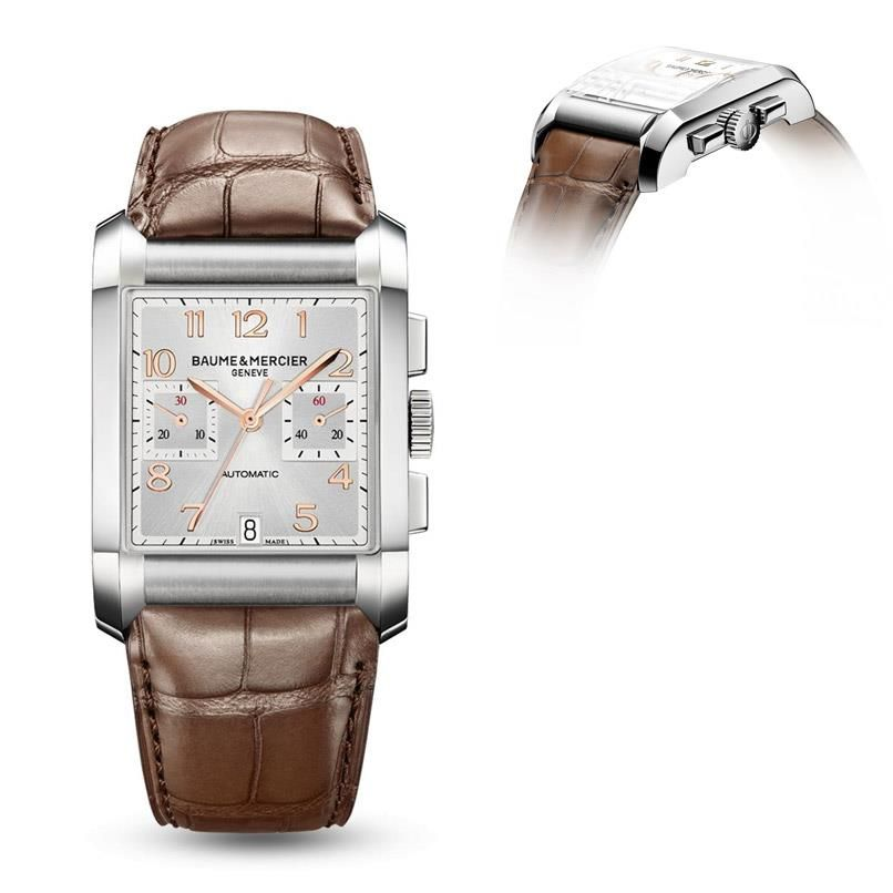 Timing is everything for a high-flyer. Let the Baume & Mercier Hampton 10029 stamp all your business with sophistication.   Explore in-depth here.