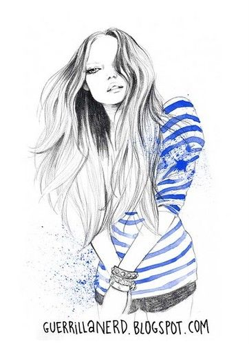 Drawing Fashion Designs For Girls