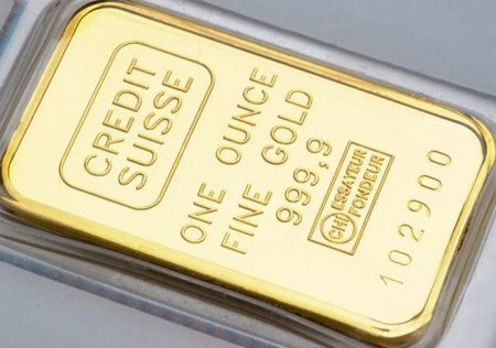 Credit Suisse 1 Oz Fine Gold Bullion Bar Gold Bullion Bars Gold Bullion Bullion