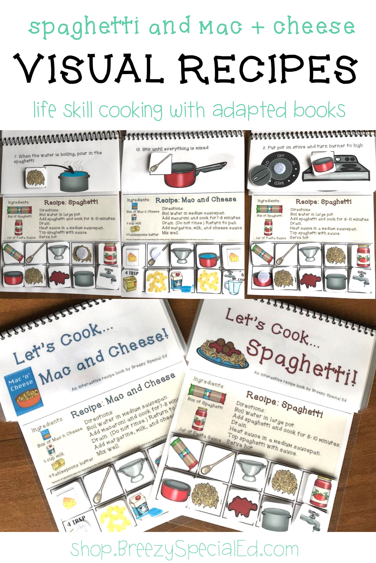 Interactive Cooking Lessons Visual Recipes Spaghetti