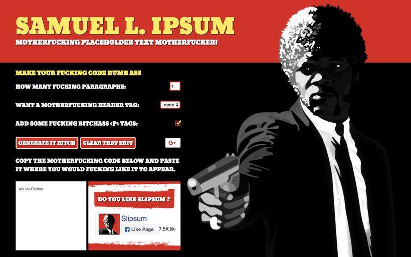 10 Generadores De Lorem Ipsum Para Divertirse Blog Domestika Generadores Domestika Blog