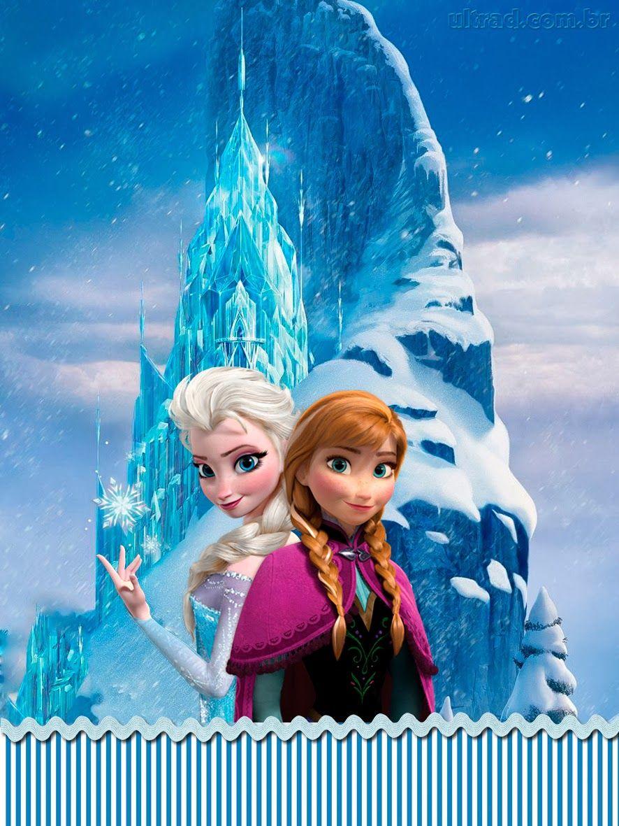 Kit Festa Frozen Uma Aventura Congelante Em 2020 Frozen Birthday