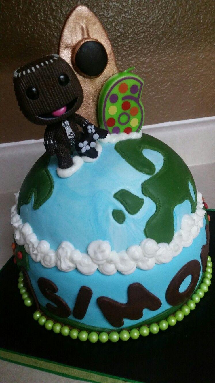 Pleasant Sackboy Little Big Planet Cake Planet Cake Cake Desserts Birthday Cards Printable Riciscafe Filternl