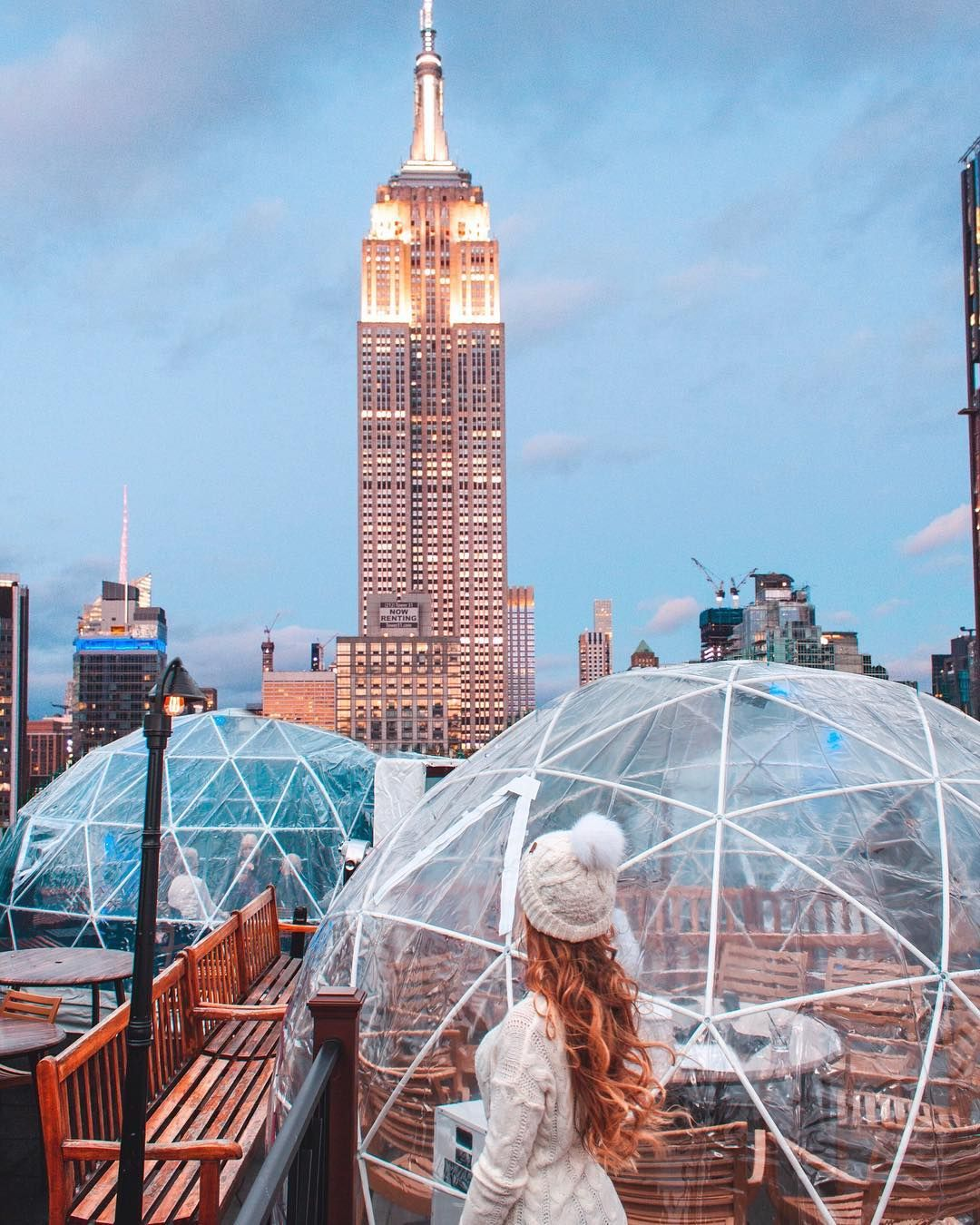 230 Fifth Rooftop Bar Penthouse In New York Igloos And Chill Nyc