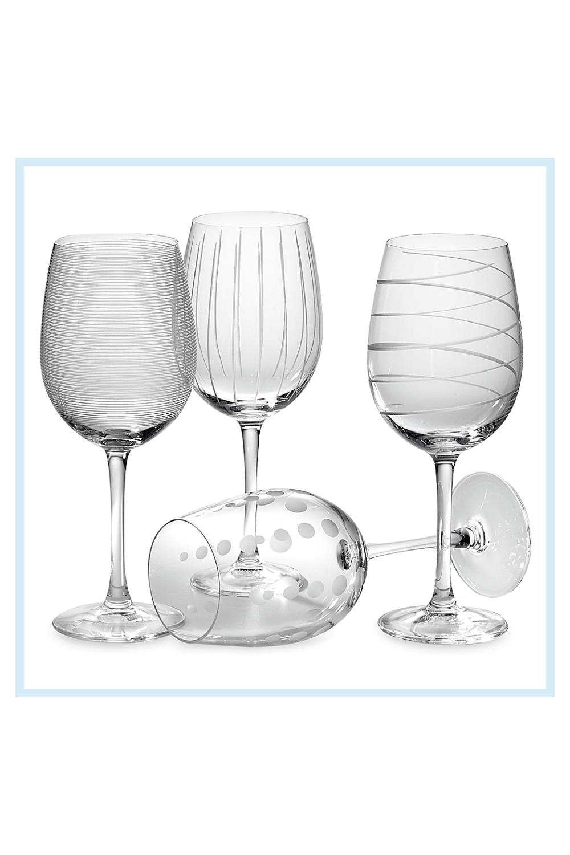 White Wine Glasses Cheers