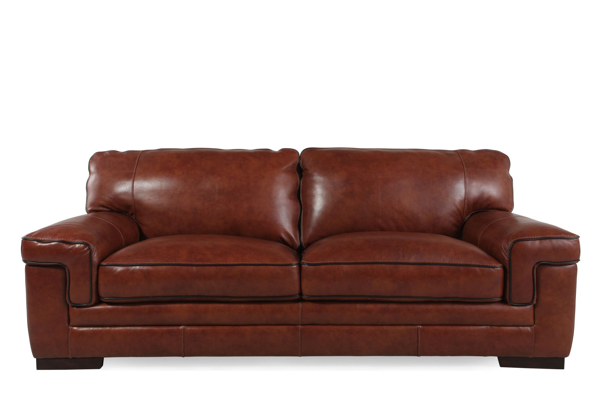 Simon Li Leather Stampede Chestnut Sofa Is This Available In Ny