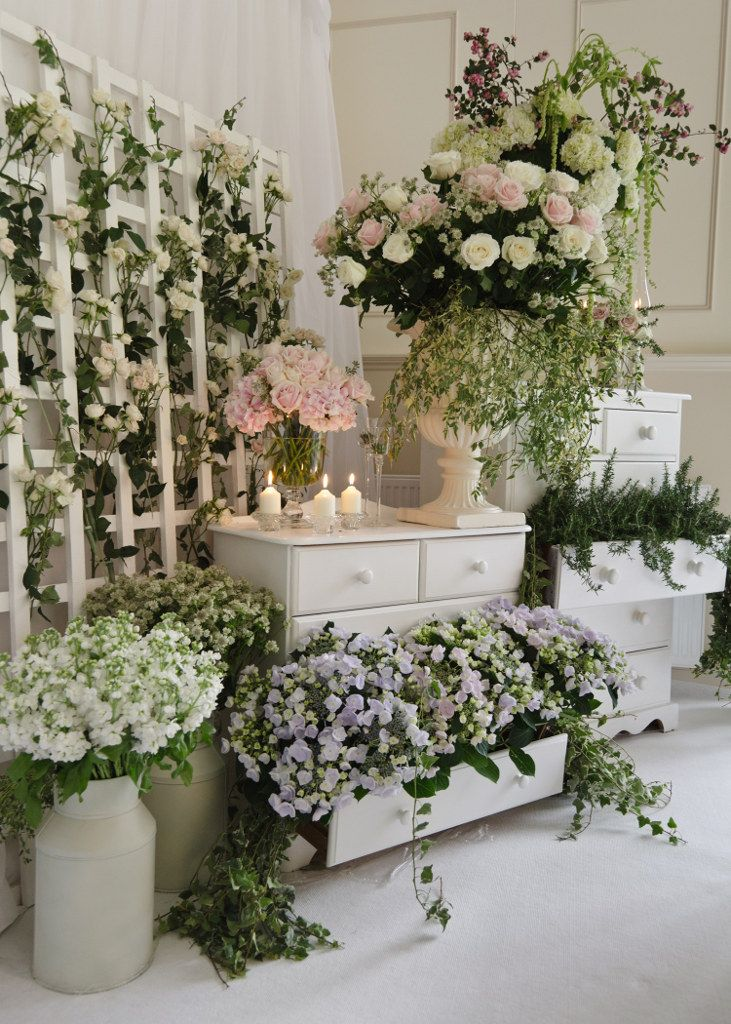 Drawers Used To Hold Plants And Decor A Great Way To