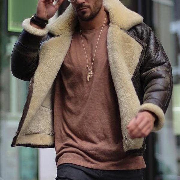 Men Fashion Lapel Long Sleeve Pockets Jacket Coats Glorzone Com In 2020 Pocket Jacket Mens Fashion Fashion