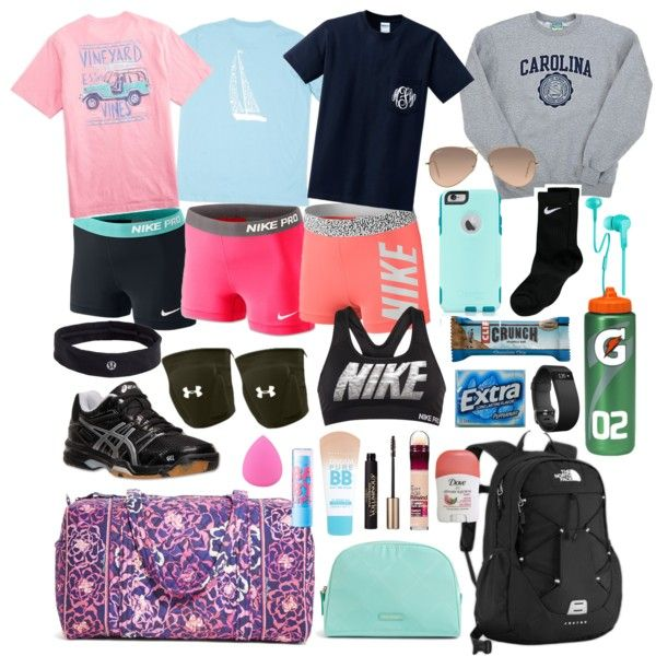 Volleyball Camp Essentials By Whalesandprints On Polyvore