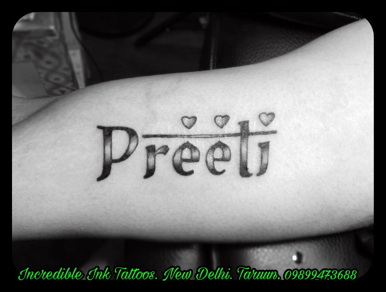 Preeti Name Tattoo Preeti Name Tattoo Call 09899473688 Name Tattoos Name Tattoo Tattoos