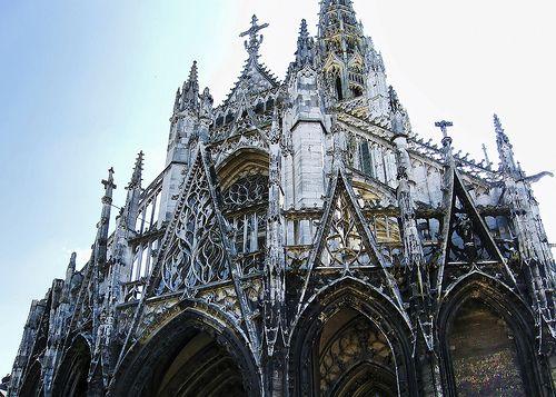 Church of saint maclou rouen france remembering - Saint maclou chartres ...