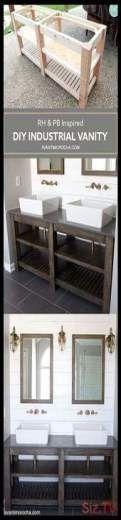 Photo of Diy Bathroom İdeas 730779477024738064 –  Industrial Bathroom Vanity Diy 23+ Ide…