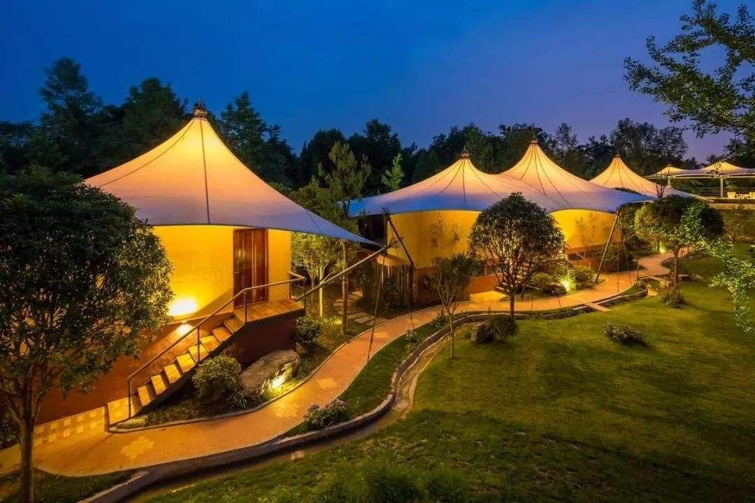 Glamping tent house looks so beautiful in the night in 2021 | Tent  glamping, Tent, Luxury glamping