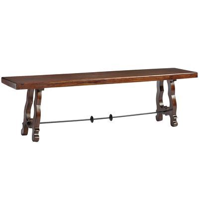 Indira Dining Bench From Pier 1 This Would Look So Great In So