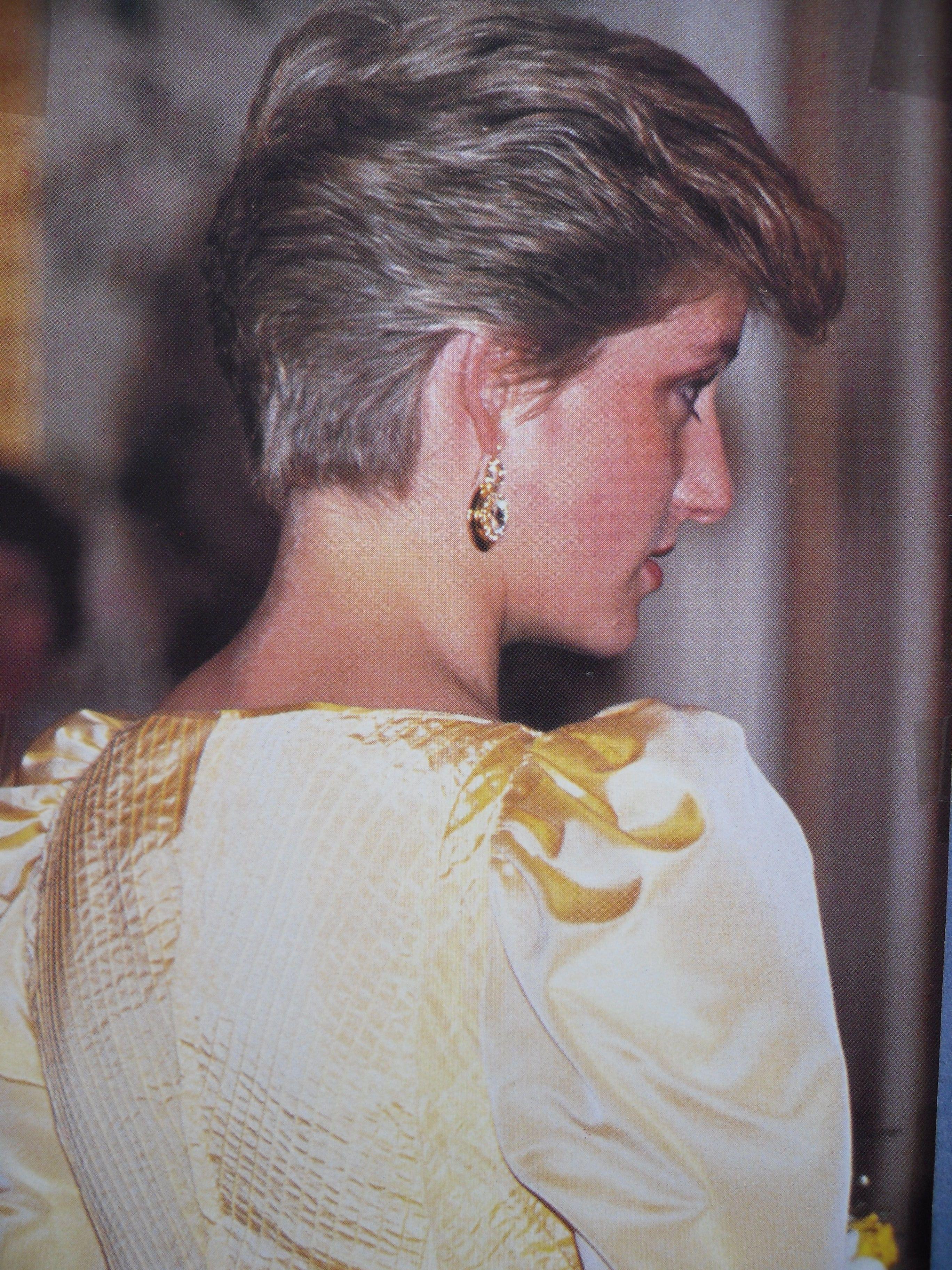 Princess Diana with short hair. | Princess Diana's hairstyles ...