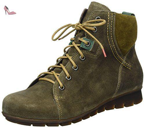 Think! Menscha, Desert Boots Femme, Rouge (Rosso/Kombi 72), 36 EU