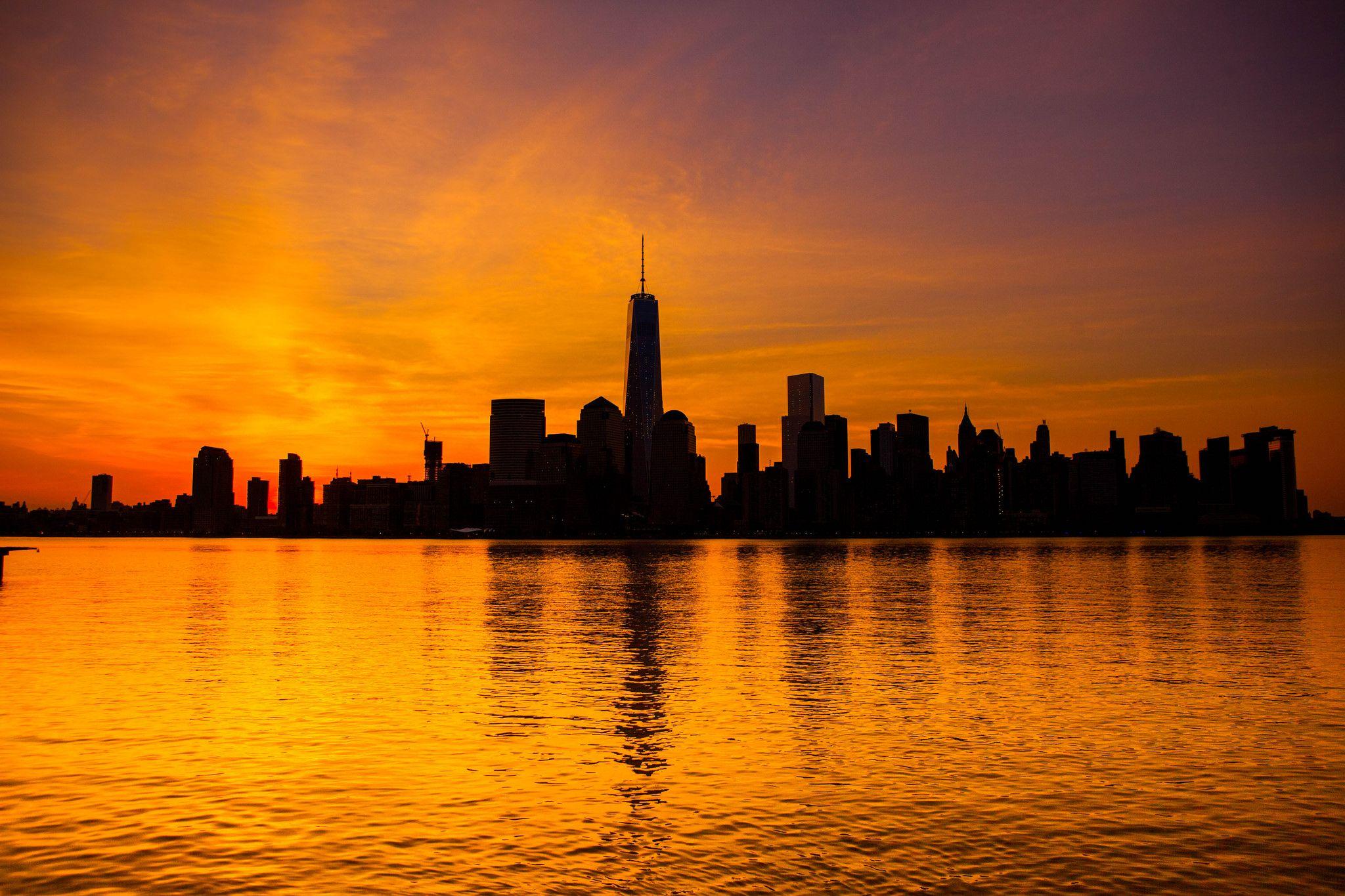 Resultat De Recherche D Images Pour Lever De Soleil New York
