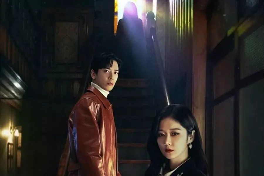 "Jang Nara And CNBLUE's Jung Yong Hwa Are Stalked By A Ghost In Eerie Posters For ""Sell Your Haunted House"""
