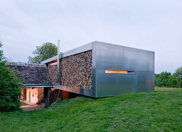 Contemporary Country House By Austrian Architects Modern