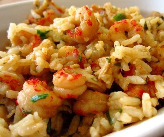 Crawfish Jambalaya Recipe #cajundishes